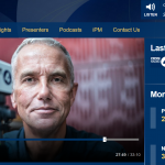BBC radio screenshot